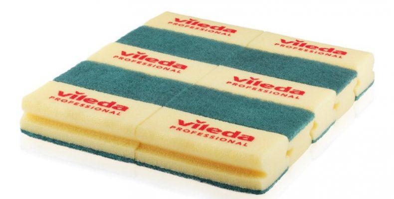 sponge vileda Kuning Hijau ( Strong)